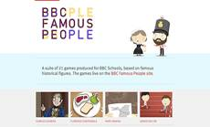 BBC Primary History - Famous People games
