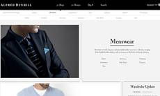 Alfred Dunhill Website