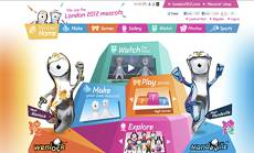 London 2012 Mascot Dressing Up and Web Cam Games