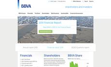 BBVA IR website - for shareholders and investors in Spain and around the world